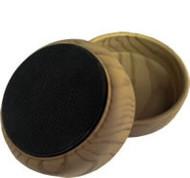"""Madico 2-3/8"""" Plastic Woodgrain Effect Cups (nonskid)"""