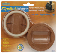"Slipstick 2"" Caramel Large Castor Cup Grippers 4pc. (CB840)"