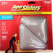 "Waxman 3-1/2"" Triangle Peel n Stick Furniture Super Sliders"