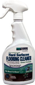 shaw spray floor cleaner natural formula
