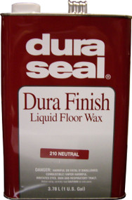 Duraseal Neutral 1gl Durafinish Liquid Floor Wax