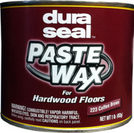 Duraseal Coffee Brown 1 lbs Paste Wax