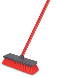 "Libman 10-1/2""x 3-1/2"" Deck Scrub Brush"