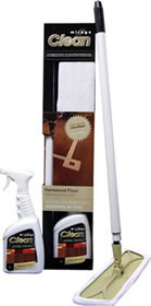 Mirage Mop & Hardwood Maintenance Kit (Tan Mop)