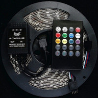 5050 RGB LED strip with music controller and remote