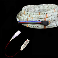 5050 RGB LED strip with controller DC 12 volt