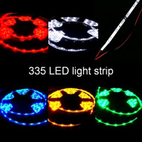 335 side-emitting LED strip with lead wires 12V waterproof