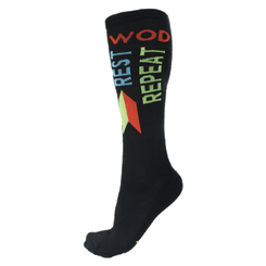 Wod Rest Repeat Sock