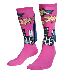 Superhero Cape Sock
