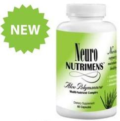 Neuro Nutrimens - Aloe Polymannose Multi-nutrient Complex 60 Capsules