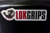 "LOK Grips Vinyl Sticker - 4""x1"""