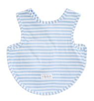 Bib - Arm Holes Back Fastening Blue