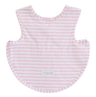 Bib - Arm Holes Back Fastening Pink