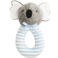 Koala Grab Rattle 16cm - Blue