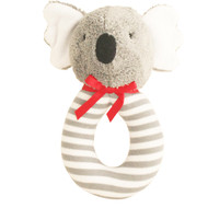 Koala Grab Rattle 16cm - Grey