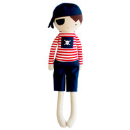 Linen Pirate Boy 50cm Navy