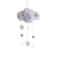 Tulle Cloud Mobile - Mist & Silver