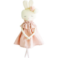 Isabelle Bunny 40cm Pink Linen