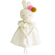 Isabelle Bunny 40cm Ivory Linen