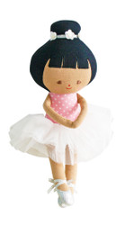 Baby Ballerina 25cm Pink Spot
