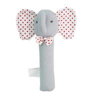 Baby Elephant Squeaker Grey