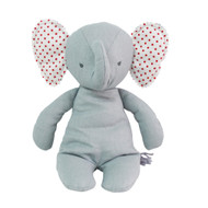 Baby Floppy Elephant 25cm Grey