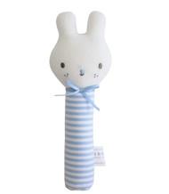 Baby Bunny Squeaker Blue