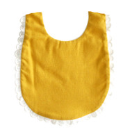 Sophie Bib Butterscotch Linen