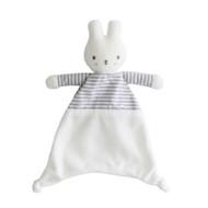 Baby Bunny Comforter 30cm Grey Stripe