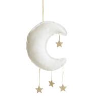 Linen Moon Mobile 40cm Ivory
