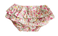 Ruffle Bloomers Rose Garden Small 3-6 mths