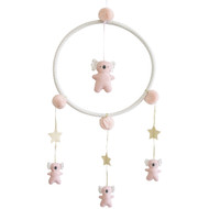 Whimsy Koala Mobile Pink