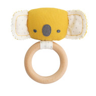 Baby Koala Teether Rattle Butterscotch