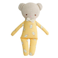Asleep Awake Ted  24cm - Yellow