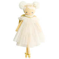Ava Angel Doll 48cm Ivory Gold