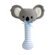 Baby Koala Stick Rattle Blue