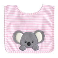 Baby Koala Bib Pink