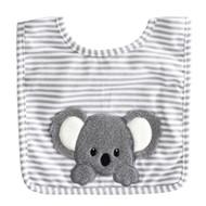 Baby Koala Bib Grey