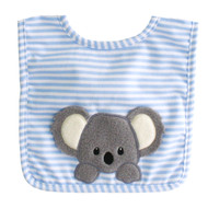 Baby Koala Bib Blue