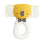 Baby Koala Grab Rattle Butterscotch