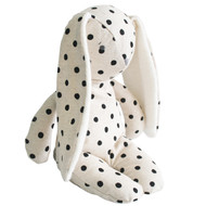 Floppy Bunny Linen 25cm Black Spot