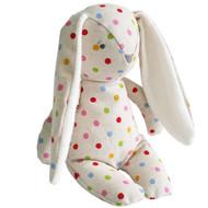 Floppy Bunny Linen 25cm Confetti Spot