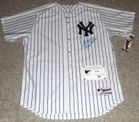 NY NEW YORK YANKEE ALEX RODRIGUEZ AUTOGRAPHED BRONX BOMBERS INSCRIBED JERSEY COA