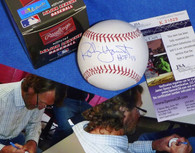 MILWAUKEE BREWERS ROBIN YOUNT Signed HOF 99 inscribed AUTOGRAPHED MLB BASEBALL JSA HOLOGRAM COA with signing photos