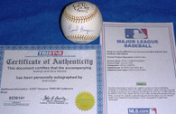 Milwaukee Brewers Boston Red Sox Cecil Cooper AUTOGRAPHED Gold Glove BASEBALL MLB TRISTAR Hologram COA
