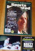 GREEN BAY PACKERS BRETT FAVRE 4 SIGNED For the Love of the Game SPORTS ILLUSTRATED COA