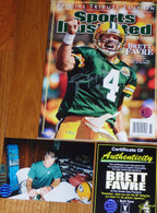 GREEN BAY PACKERS BRETT FAVRE 4 SIGNED Special Tribute Edition SPORTS ILLUSTRATED BF COA