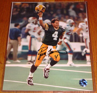 GREEN BAY PACKERS BRETT FAVRE AUTOGRAPHED 8x10 SB XXXI The KID PHOTO FARVE HOLO COA