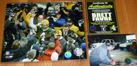GREEN BAY PACKERS BRETT FAVRE 4 AUTOGRAPHED GOLD SIGNED Waving 8x10 PHOTO FARVE COA