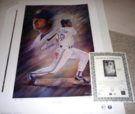 Paul Molitor SIGNED Autographed Limited Edition #2 of 2 CE signed by Artist Andy GORALSKI Framed Lithograph with COA